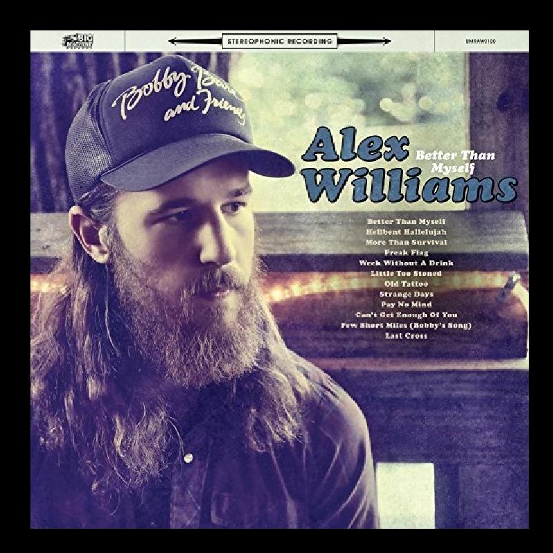 Alex Williams CD- Better Than Myself