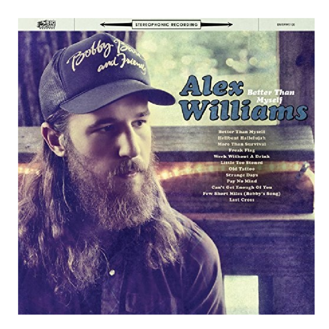 Alex Williams CD- Better Than Myself